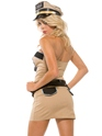 Adult Sizzlin' Sheriff Costume  - Back View - Thumbnail