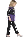 Child Skellie Punk Girl Costume  - Side View - Thumbnail