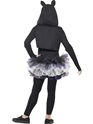 Child Skelly Cat Costume  - Side View - Thumbnail