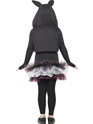 Child Skelly Rabbit Costume  - Side View - Thumbnail