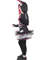 Child Skelly Rabbit Costume  - Back View - Thumbnail
