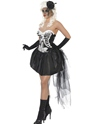 Adult Skelly Von Trap Costume  - Back View - Thumbnail