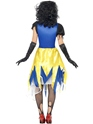 Adult Snow Fright Costume  - Side View - Thumbnail