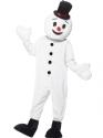 Adult Snowman Mascot Costume Thumbnail