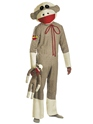 Adult Sock Monkey Costume Thumbnail