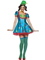 Adult Star Clown Adult Female Costume Thumbnail