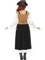 Adult Steam Punk Pirate Wench Costume  - Side View - Thumbnail