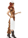 Adult Steam Punk Wild West Costume  - Back View - Thumbnail