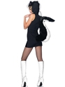 Adult Stinkin Cute Skunk Costume  - Back View - Thumbnail