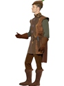 Adult Storybook Robin Hood Costume  - Back View - Thumbnail