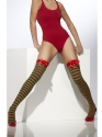 Striped Elf Thigh Highs Thumbnail