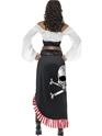 Adult Sultry Swashbuckler Costume  - Side View - Thumbnail