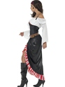 Adult Sultry Swashbuckler Costume  - Back View - Thumbnail
