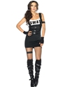 Sultry SWAT Police Officer Costume Thumbnail