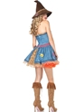 Adult Sunflower Scarecrow Costume  - Back View - Thumbnail