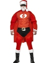 Adult Super Fit Santa Costume Thumbnail