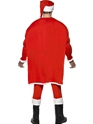 Adult Super Fit Santa Costume  - Side View - Thumbnail