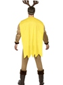 Adult Super Reindeer Costume  - Side View - Thumbnail