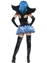 Adult Tainted Garden Stricken Angel Costume  - Side View - Thumbnail