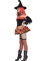 Adult Tainted Garden Wicked Witch Costume  - Back View - Thumbnail