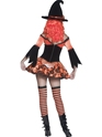 Adult Tainted Garden Wicked Witch Costume  - Side View - Thumbnail