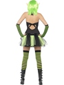 Adult Tainted Garden Wild Ivy Elf Costume  - Side View - Thumbnail