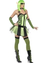 Adult Tainted Garden Wild Ivy Elf Costume  - Back View - Thumbnail