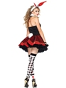 Adult Tea Party Bunny Costume  - Back View - Thumbnail