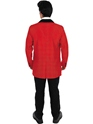 Adult Red Teddy Boy Costume  - Side View - Thumbnail