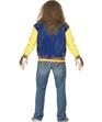 Adult Teen Wolf Costume  - Back View - Thumbnail