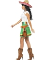 Adult Tequila Shooter Girl Costume  - Back View - Thumbnail
