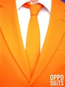 Adult Orange Oppo Suit  - Side View - Thumbnail