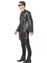 Adult Terminator 2 Judgement Day Costume  - Back View - Thumbnail