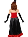 Adult Theatre Macabre Madame Vamp Costume  - Side View - Thumbnail