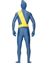 Adult Thunderbirds Second Skin Costume  - Back View - Thumbnail