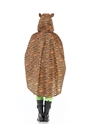 Tiger Party Poncho Festival Costume  - Side View - Thumbnail
