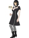 Adult Tokyo Dolls Horror Doll Costume  - Side View - Thumbnail