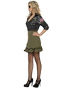 Adult Top Gun Officer Costume  - Side View - Thumbnail