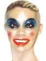Transparent Female Face Masks  - Back View - Thumbnail