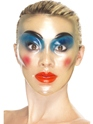 Transparent Female Face Mask  - Side View - Thumbnail