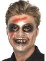 Transparent Male Face Mask  - Back View - Thumbnail
