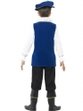 Child Tudor Boy Costume  - Side View - Thumbnail