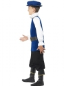 Child Tudor Boy Costume  - Back View - Thumbnail