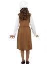 Child Tudor Girl Costume  - Side View - Thumbnail
