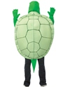 Adult Deluxe Turtle Costume  - Back View - Thumbnail