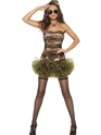Adult Tutu Army Costume Thumbnail
