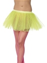 Tutu Underskirt Neon Yellow  - Back View - Thumbnail