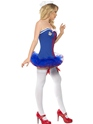 Adult Tutu Sailor Costume  - Back View - Thumbnail