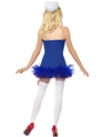 Adult Tutu Sailor Costume  - Side View - Thumbnail