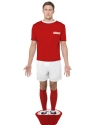 Adult Subbuteo Red Strip Costume Thumbnail